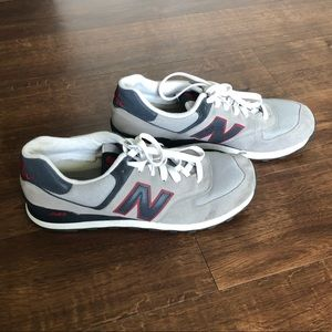 New Balance 574 Classic Sneakers Grey Blue
